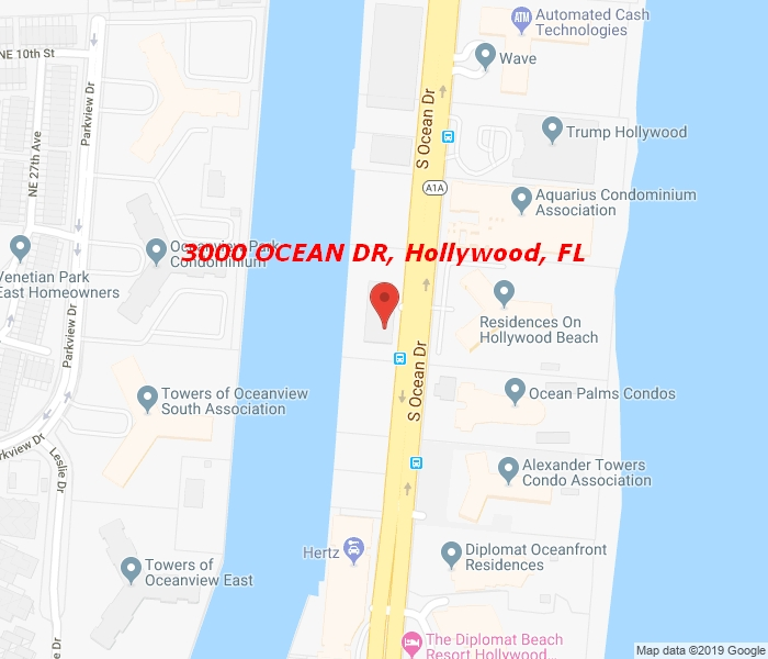 3000 Ocean Dr #1422, Hollywood, Florida, 33019